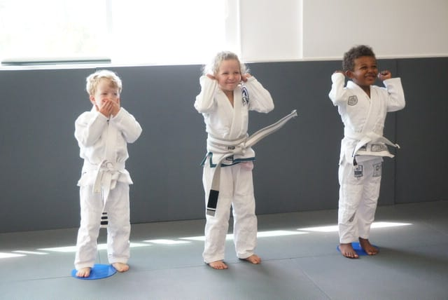 jiu-jitsu for kids 3 -5